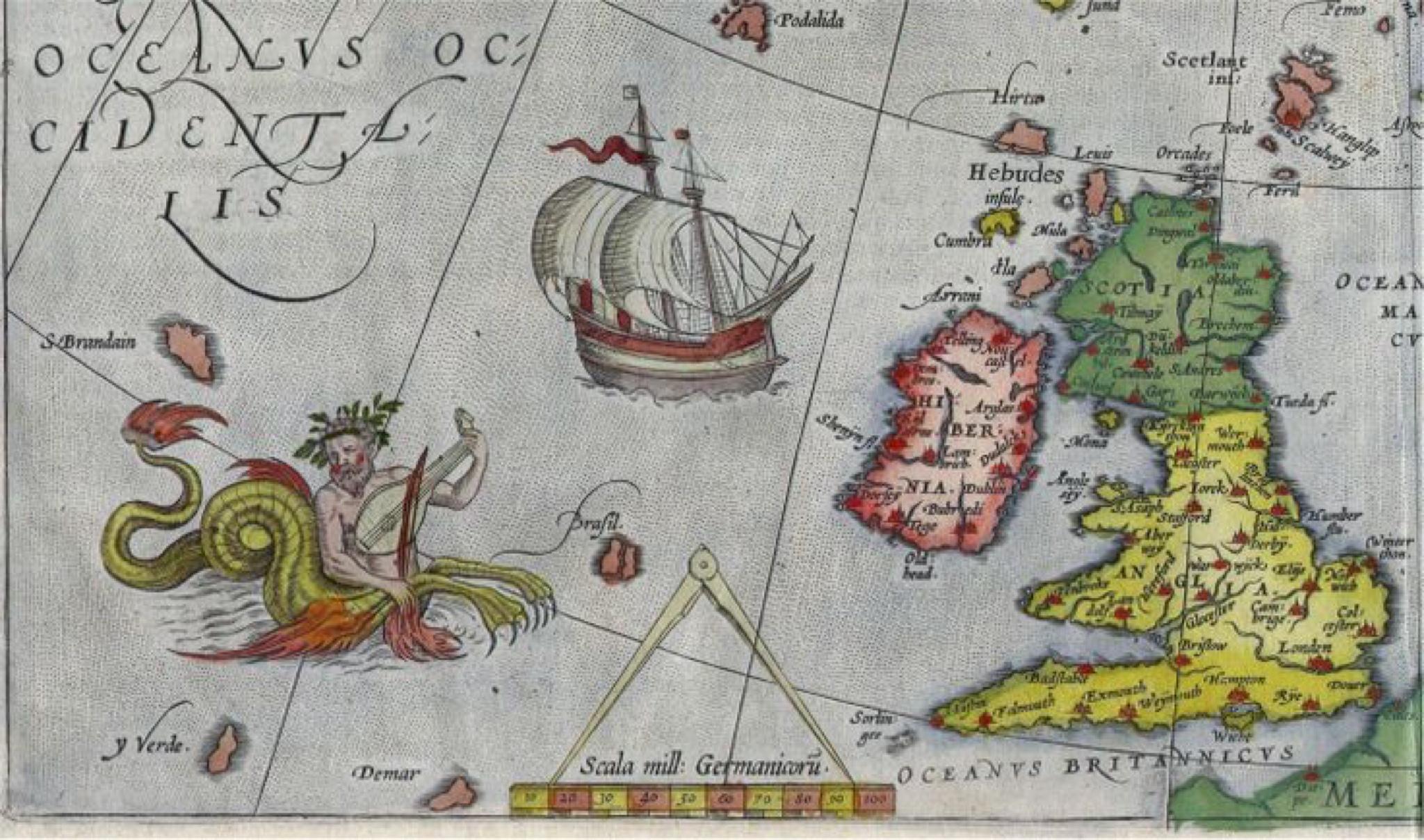 The legend of Hy Brasil: a mythical island off the coast